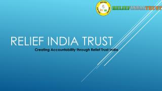 relief india trust (making life)