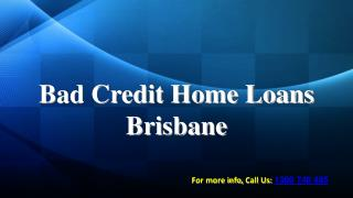 Bad Credit Home Loans Brisbane - Oyster Financial