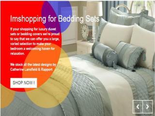 Imshopping for bedding sets