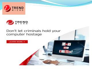 Trend micro Customer Care Number NZ |  64-99710591