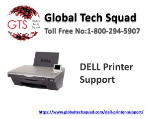 Dell Printer provide services Dial:(800) 294-5907