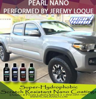 Super-Hydrophobic, Scratch Resistant Nano Coatings by Jeremy Loque