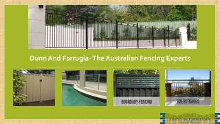 Dunn and Farrugia- The Australian fencing experts