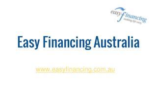 Easy Finance Loans Australia