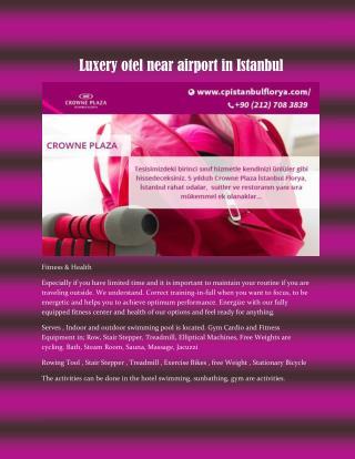 Havaalani otel istanbul turkey