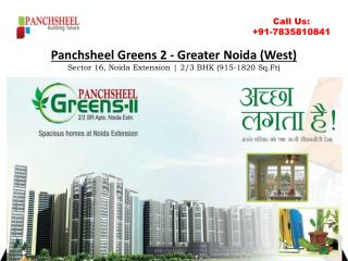 Panchsheel Greens 2 Reviews & Specifications