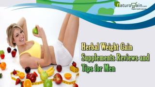 Herbal Weight Gain Supplements Reviews And Tips For Men