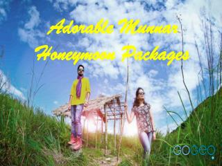 Romantic Munnar Tour Packages by Gogeo Holidays