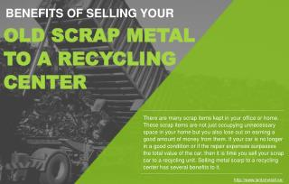 Why Businesses Should Sell Scrap Metal Parts