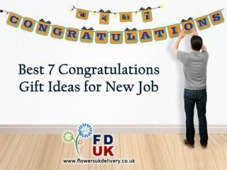 Best 7 Congratulations Gift Ideas for New Job