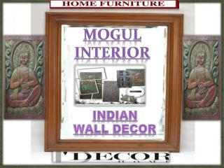 ANTIQUE VINTAGE INDIAN WALL DECOR PANELS by MI