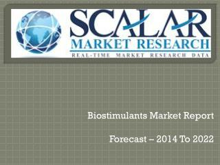 Biostimulants market report