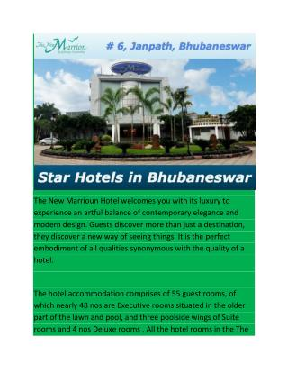 Star Hotels in Bhubaneswar