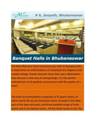 Banquet Halls in Bhubaneswar