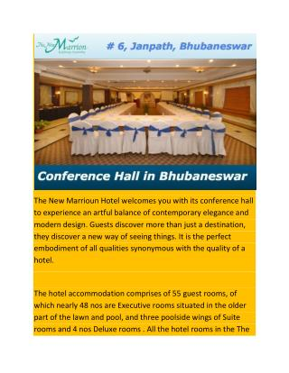 Conference Hall in Bhubaneswar