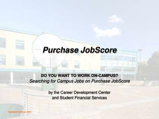 Purchase JobScore