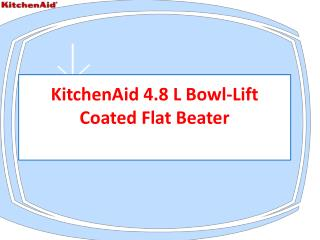 KitchenAid-4.8-L-Bowl-Lift Coated Flat Beater