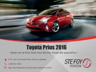 Toyota Prius 2016 neuf à Québec chez Ste-Foy Toyota