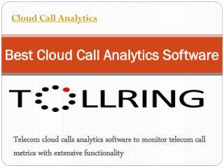 Cloud Call Analytics