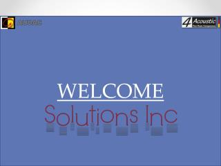 solutions inc loudspeakers