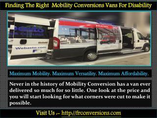 Mobility Van Conversions - FR Conversions