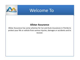 Allstar Assurance Provide Car Insurance Weston