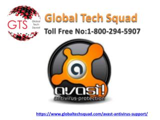 Avast Antivirus Best Services Dail-1-800-294-5907