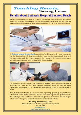 Details about Bethesda Hospital Boynton Beach