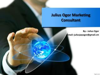 Julius Ogor Marketing Consultant