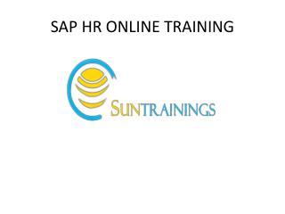 SAP HR Online Training in Hyderabad
