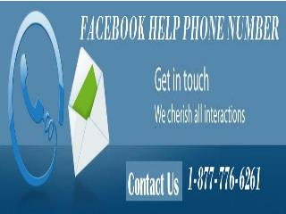 Expel Hiccups by strategy for Facebook Help Phone Number 1-877-776-6261