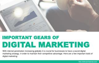 The important components of a digital marketing strategy