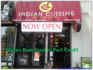 Gluten Free Food in Port Credit