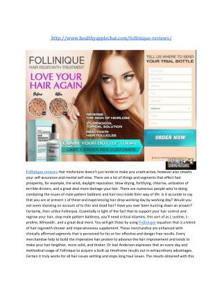 http://www.healthyapplechat.com/follinique-reviews