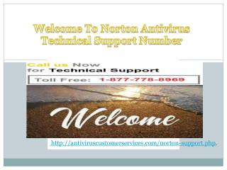 Just Dial (1-877-778-8969) Norton Antivirus Phone Number