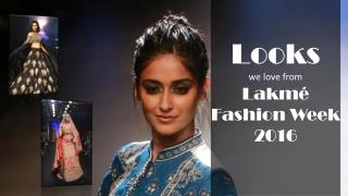 Lakmé Fashion Week 2016