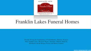 Franklin Lakes Funeral Homes