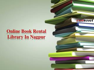 Online Book Rental Library In Nagpur