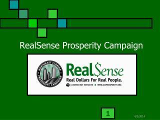 RealSense Prosperity Campaign