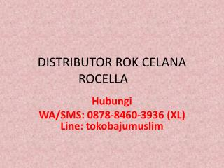 0878-8460-3936 (XL),   jual rok celana muslimah, rok celana murah, harga rok celana,