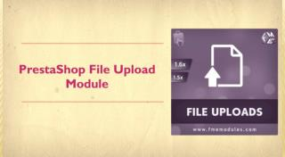 PrestaShop Upload Customer Images Module