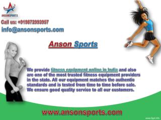 Sports and fitness store online in India