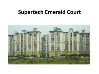 Supertech Emerald Court Welcome to All Homebuyers