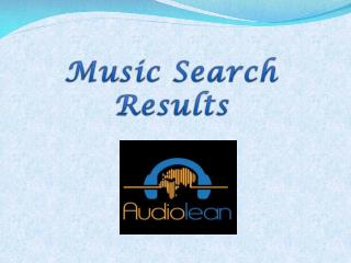Music Search Results