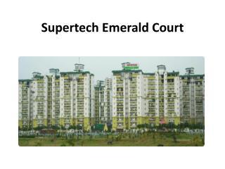 Supertech Emerald Court A hot Property By Supertech