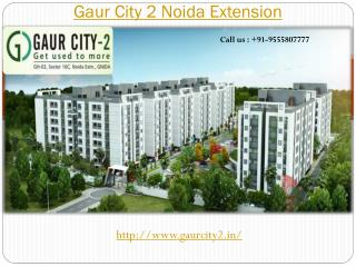 Gaur City 2 Luxurious Lifestyle