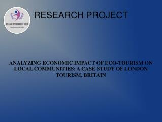 PPT On Economic Impact Of Eco-Tourism On Local Communities
