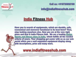 Obtain gym equipments from a reliable online store