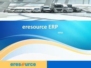 eresource NFRA Overview