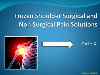 Pain Solutions Exercises for Frozen Shoulder